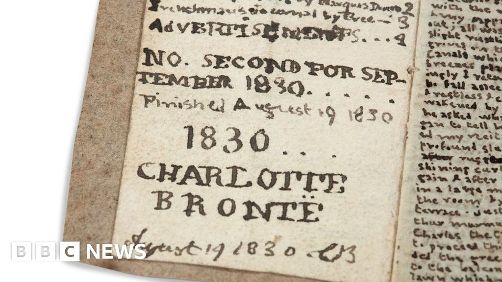 Bronte Parsonage Museum bids to bring Charlotte's 'little book' home