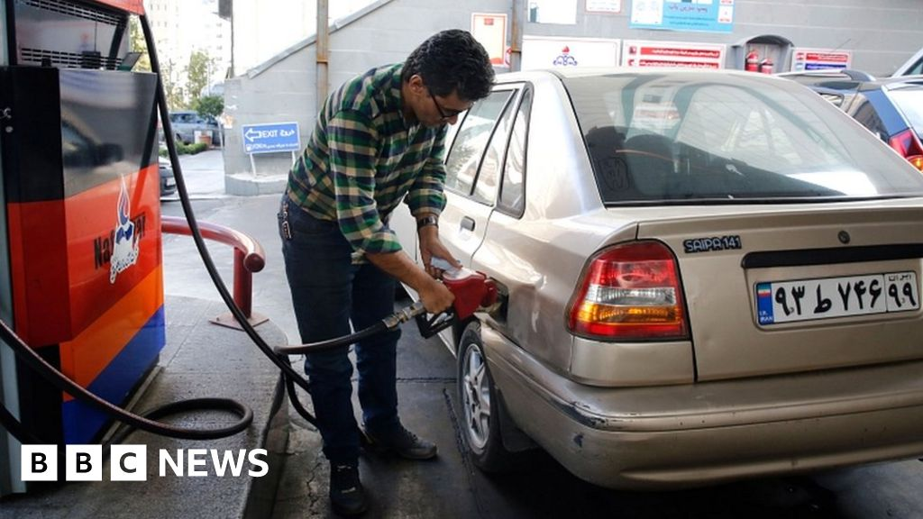 Iran petrol price hike: Protests erupt over surprise rationing thumbnail