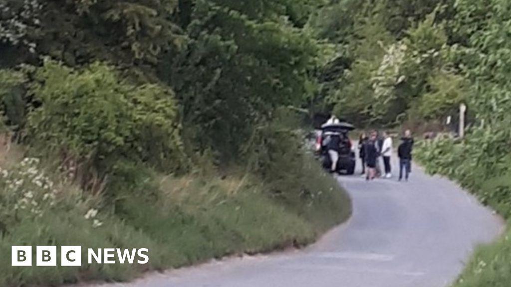 Coronavirus: Dozens flout lockdown rules for Telford 'rave'