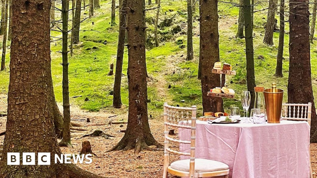 Mystery Lakeland tea-for-two in woods 'not abandoned'