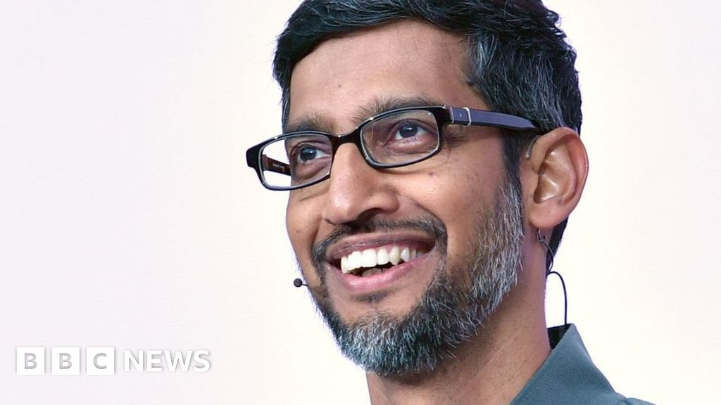 Who is Sundar Pichai and what does Alphabet do?