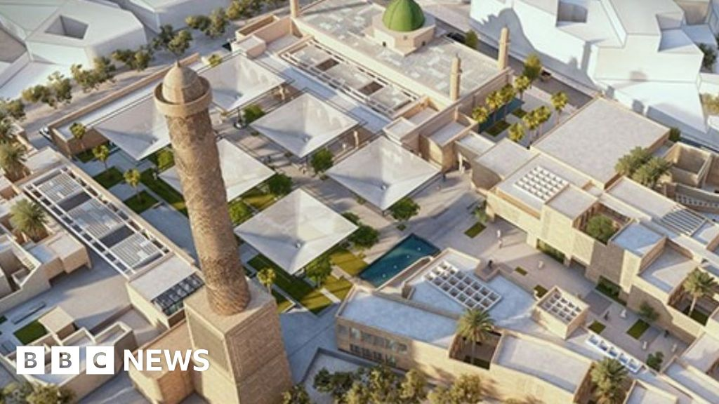 The famous Mosul mosque will be rebuilt by Egyptian architects