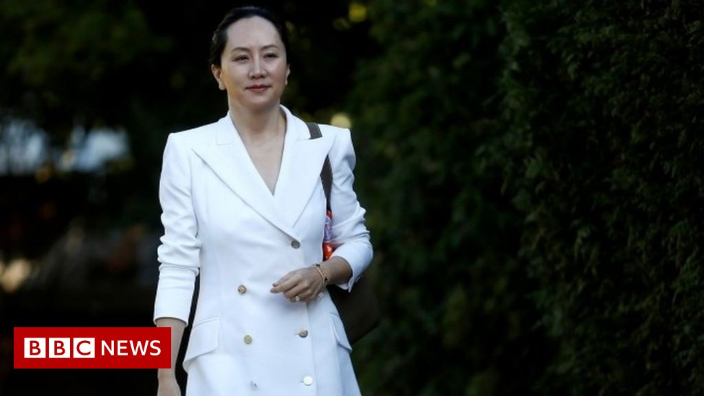 Meng Wanzhou: Oil paintings and books for detained Huawei executive