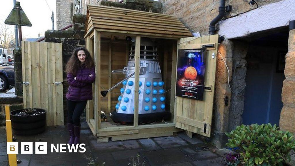 Allendale Sci Fi Museum S Dalek Shed Escapes Extermination Bbc News