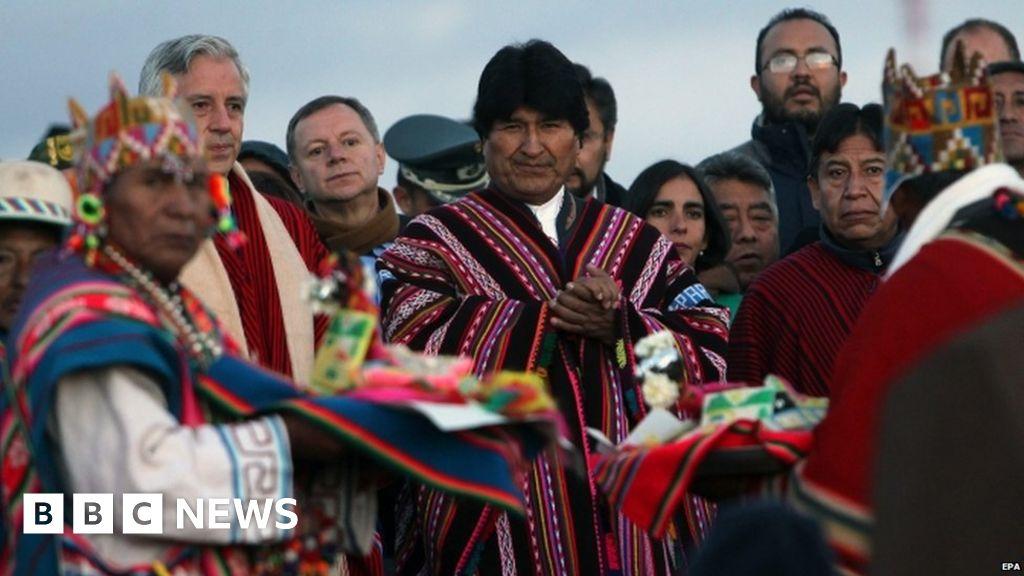 Bolivian President Evo Morales apologises for lesbian jibe