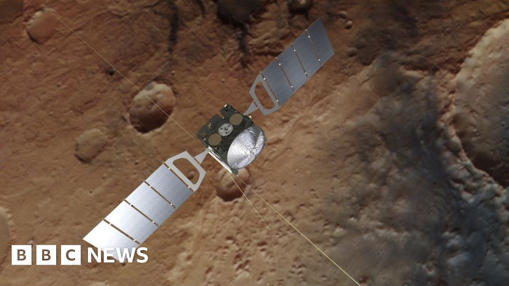 Buried lakes of water discovered on Mars