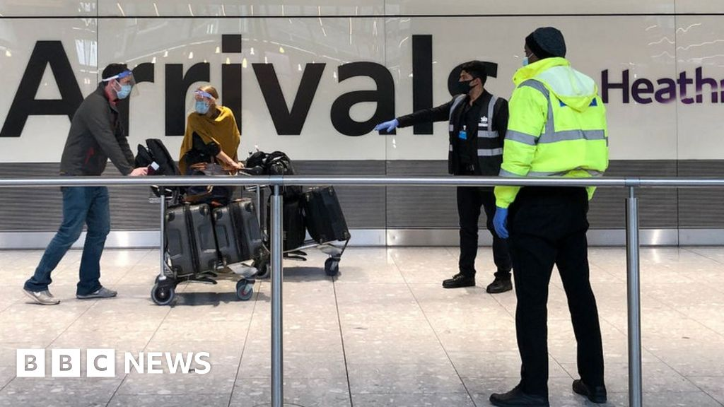 Covid-19: Red list arrivals terminal opens at Heathrow Airport