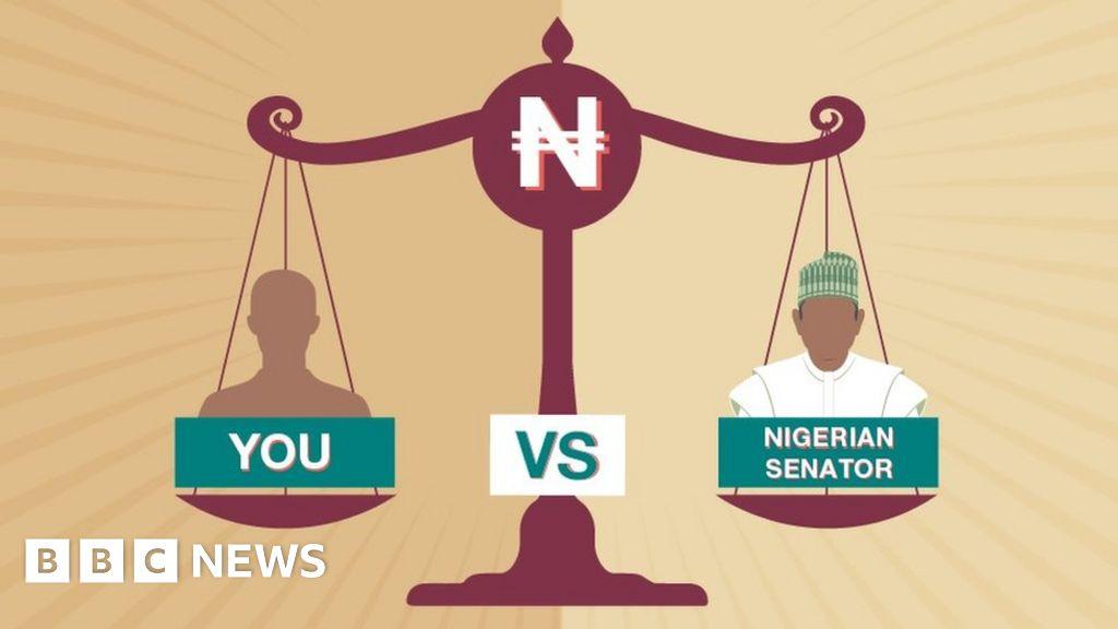 Nigerian senator salary calculator: How do you compare? - BBC News
