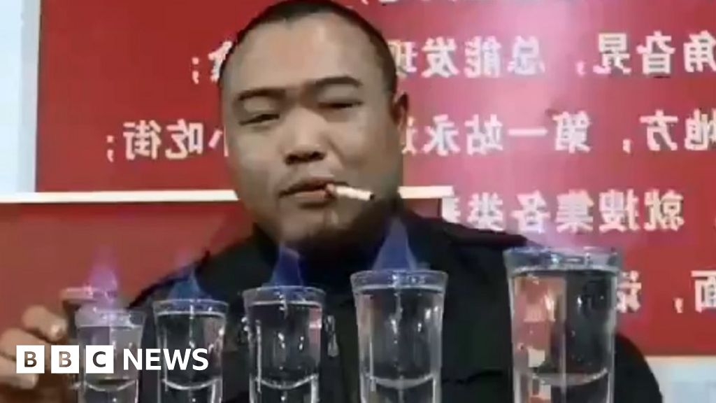 The 'peasant' binge drinker who went viral - and what it says about modern China