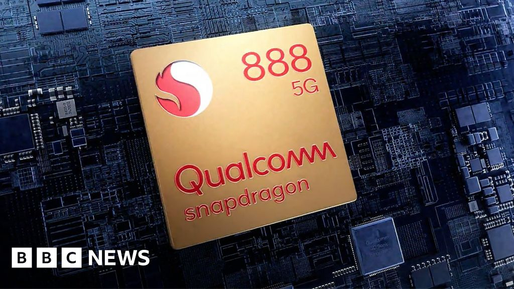 Qualcomm: Android phones to get 'lucky number' Snapdragon 888 chip - BBC News