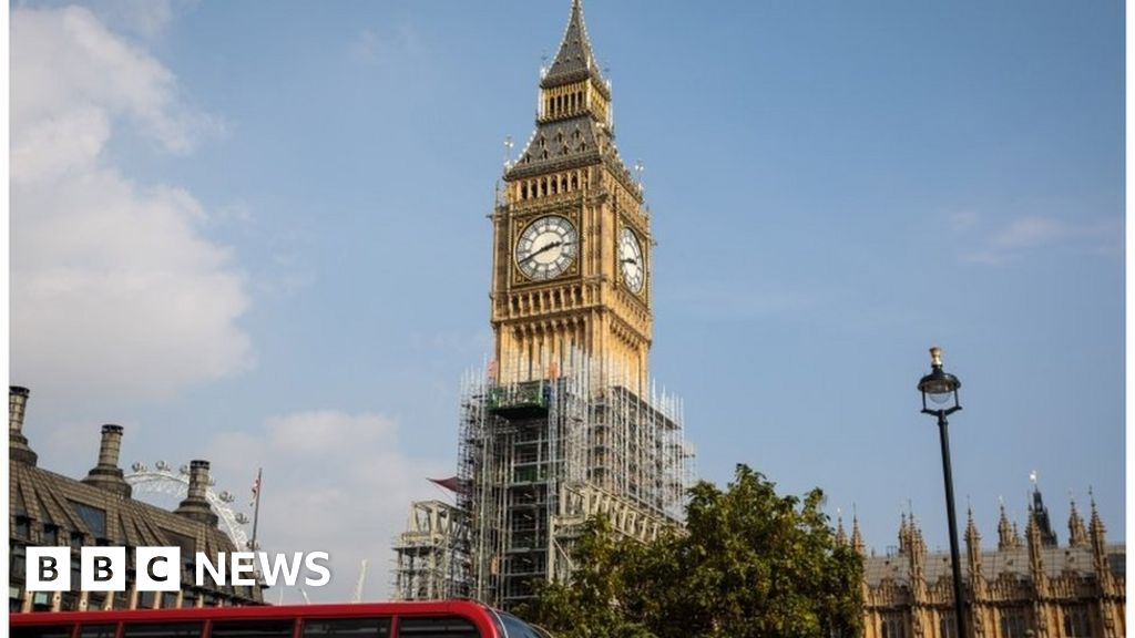 Big Ben tower repair costs double to £61m - BBC News