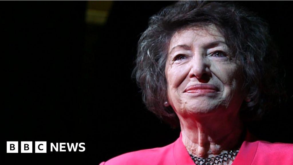 Holocaust survivor Dorit Oliver-Wolff receives the British Empire medal