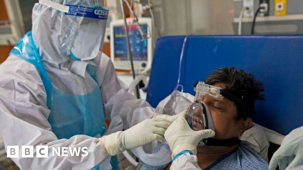 The Covid-19 hospital in India so bad patients want to get out