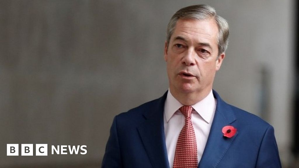 Nigel Farage: Brexit Party to focus on fighting lockdown