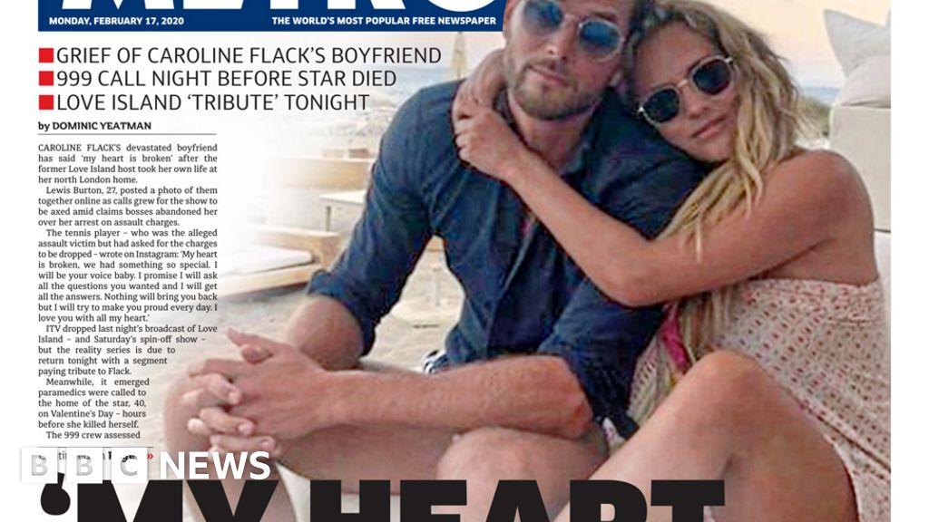 "Headlines: Flack friend s sorrow and ""hard"" trade talks"