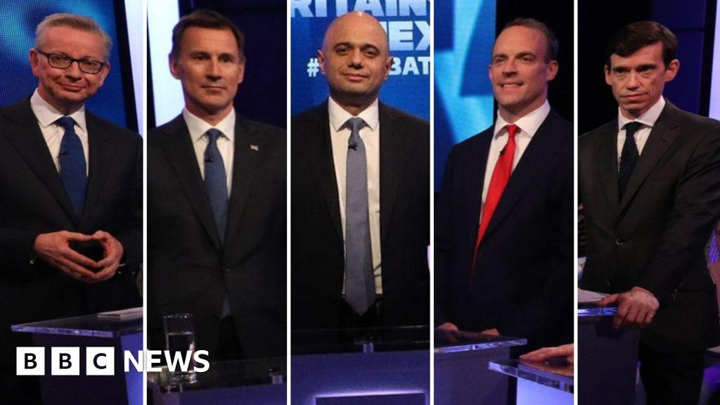 Tory leader hopefuls clash over Brexit