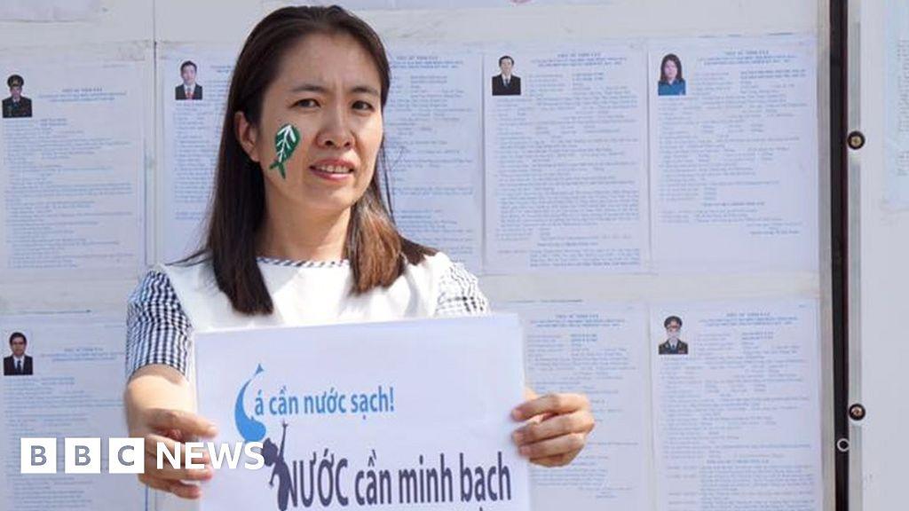 Vietnam blogger 'Mother Mushroom' jailed