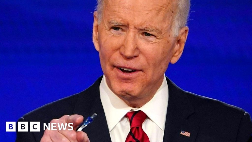 US election 2020: Rampant Biden crushes Sanders in hat-trick