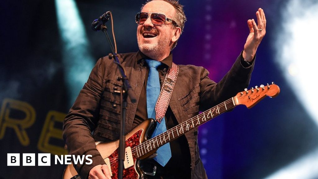 Elvis Costello revives an old friend on Look Now