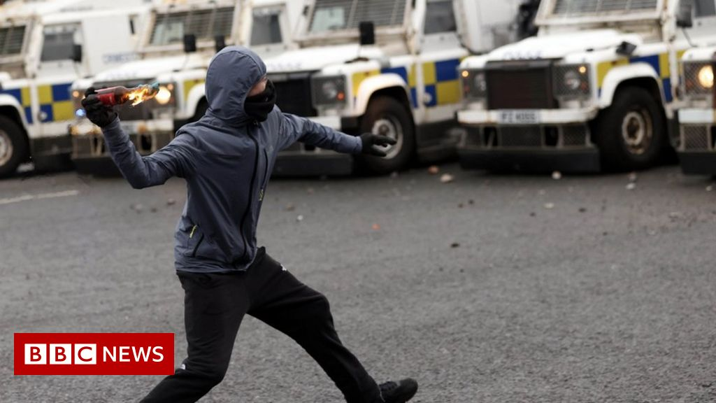NI riots: Adult influence in disorder 'amounts to child abuse'
