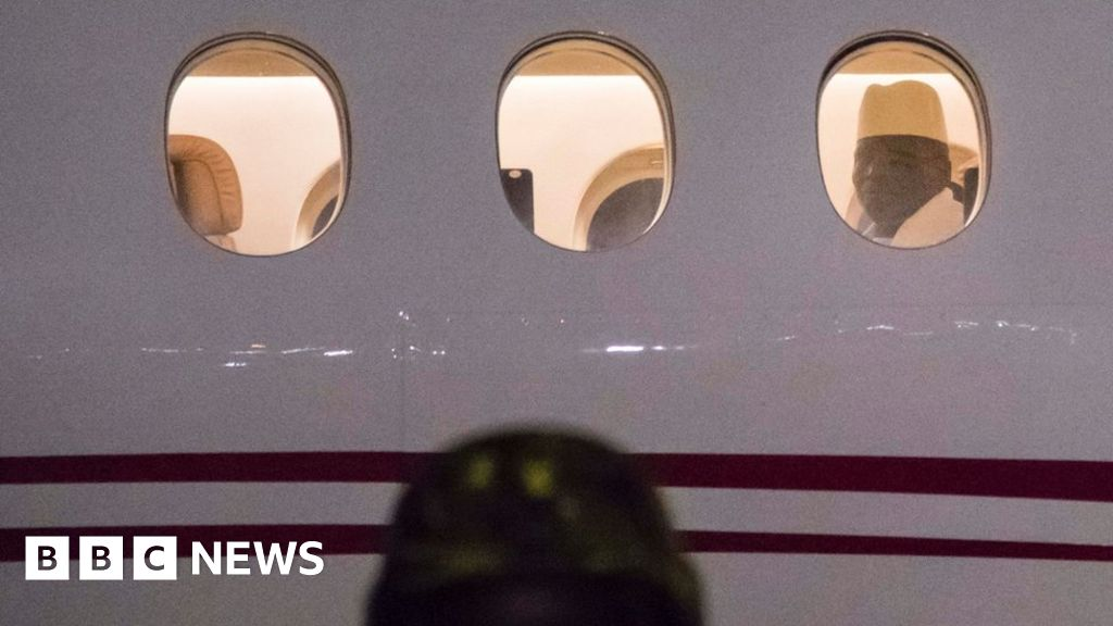 Ex-President Jammeh leaves The Gambia