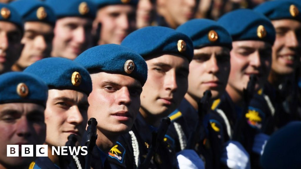 Russia holds the second world war victory parade in coronavirus shadow