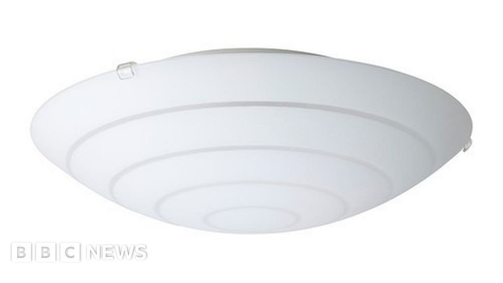 detailed look d95c5 73967 Ikea recalls ceiling lampshades over safety issues - BBC News