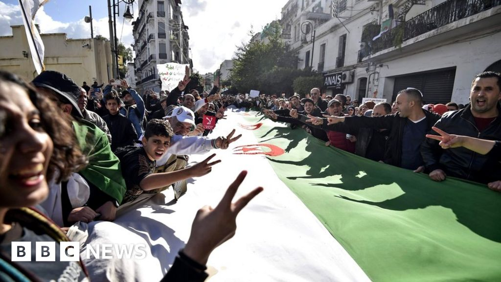 Algeria s serial protesters:  Why I give up my weekends to march