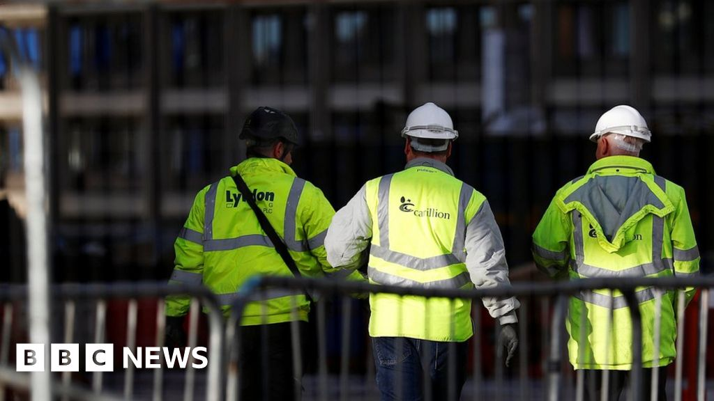 Work paused on Carillion construction sites