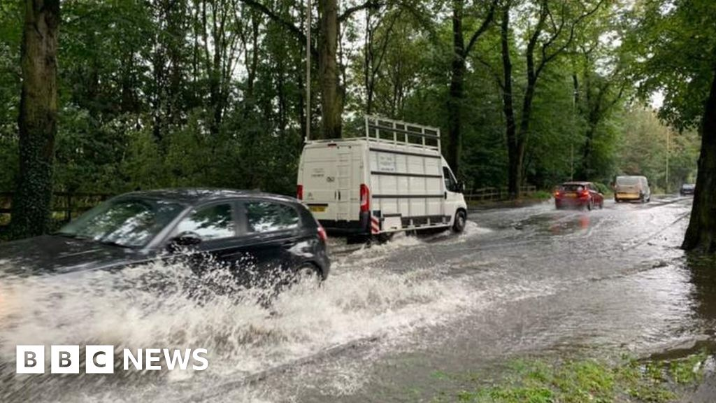 UK weather: Torrential rain brings floods across Britain