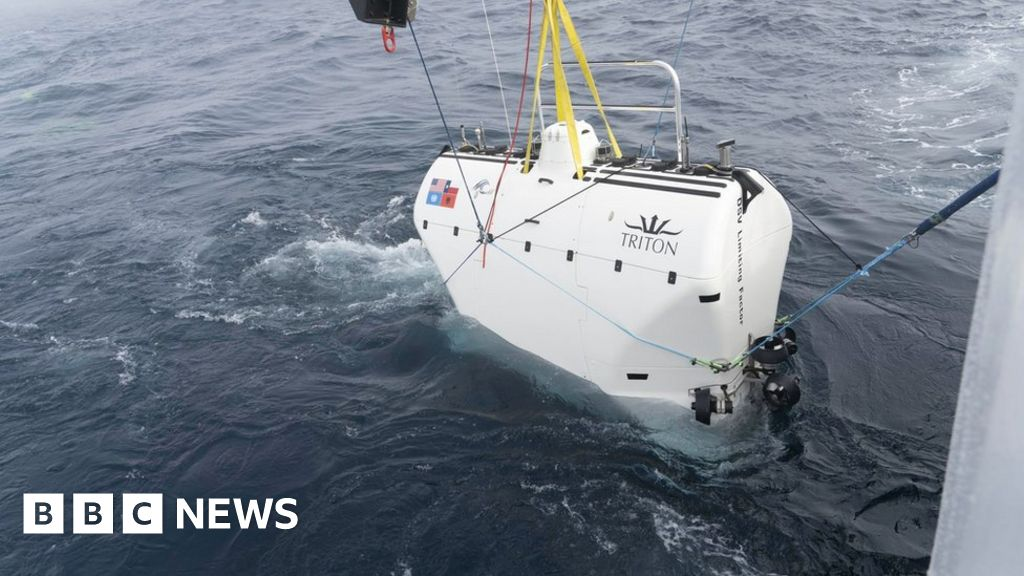 The Mariana trench-Don Walsh s son repeated historical ocean dive