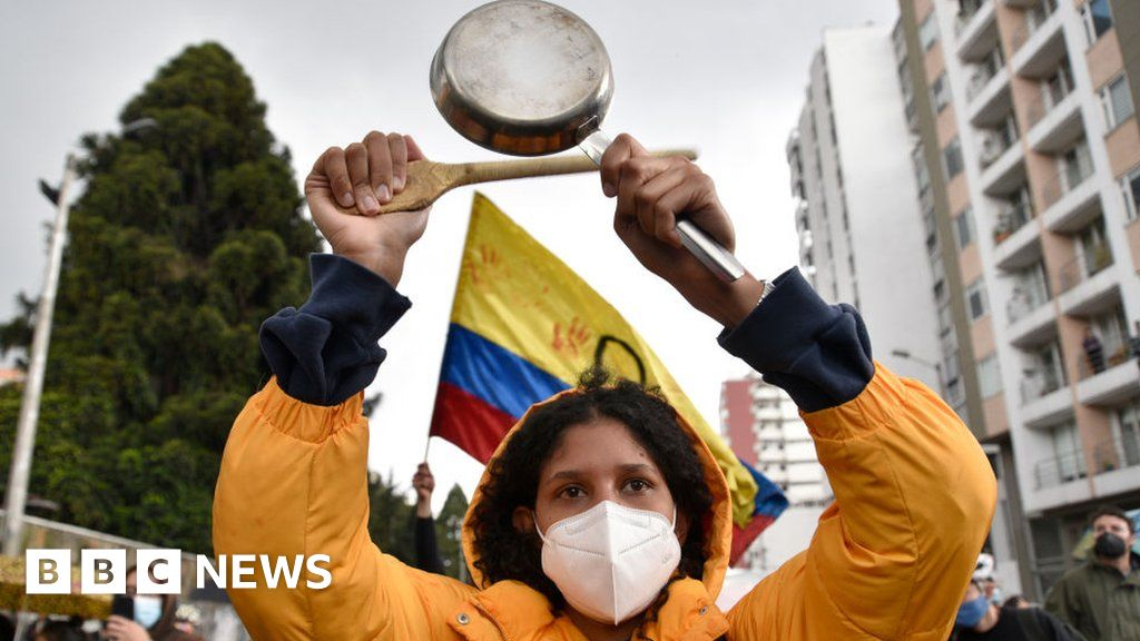 Colombia protests: What is behind unrest?