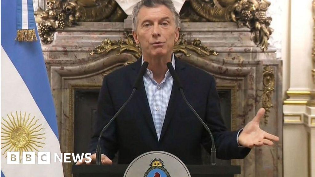 Argentina seeks IMF aid 'to avoid crisis'