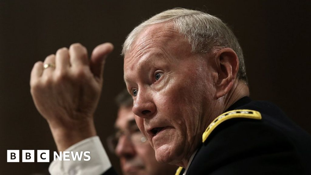 George Floyd protests: Ex-top general rebukes Trump's troops threat - BBC News