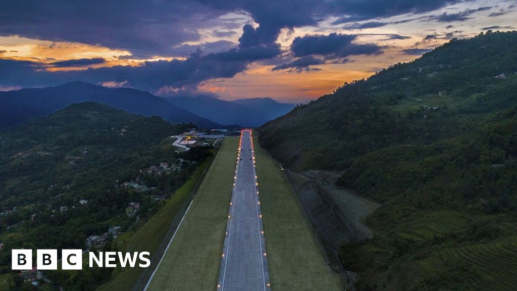 Is this one of the world's most beautiful airports?