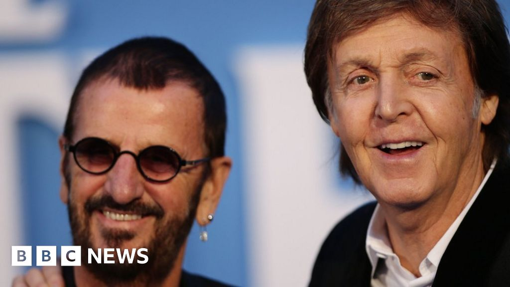 Macca and Ringo: Unheard demo of former Beatles auctions