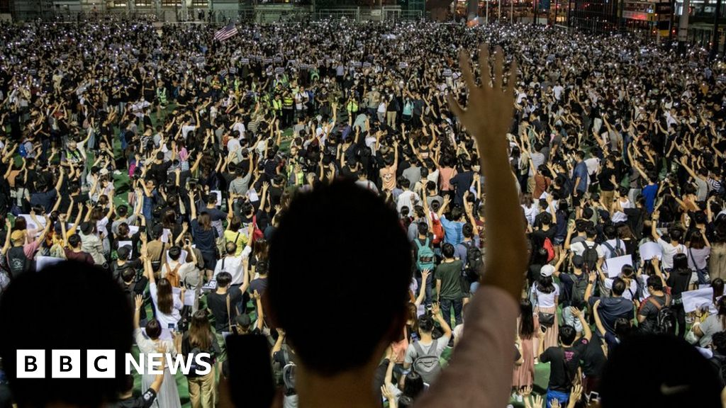 Boy, 12, is youngest person convicted in Hong Kong protests thumbnail