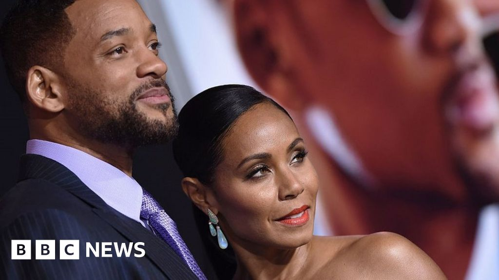 Jada Pinkett Smith tells Will Smith of her 'relationship' - BBC News