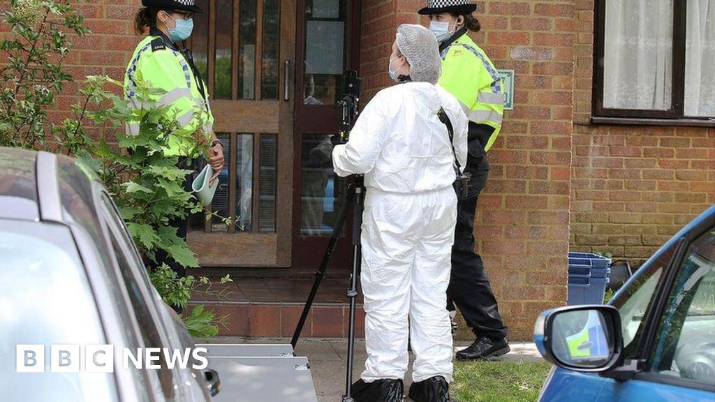 Milton Keynes: Police shoot man dead after finding injured child