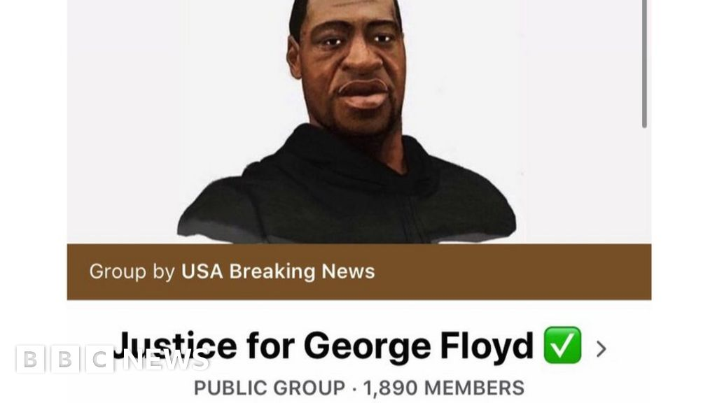 Facebook removes 'inauthentic' George Floyd groups