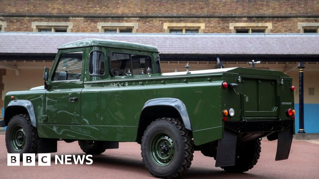 Land Rover hearse designed by Prince Philip unveiled
