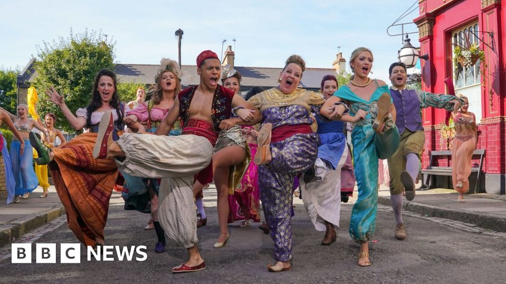 Children in Need 2018: EastEnders do Disney with Boyzone on Strictly