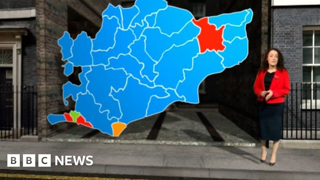 The political map of the South East