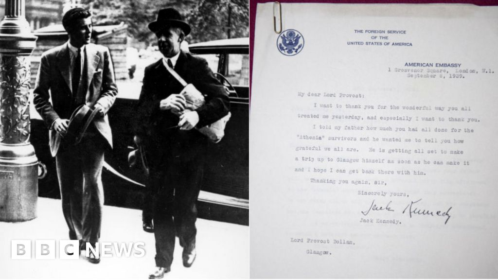 Unseen letters show how Glasgow helped JFK on road to White House