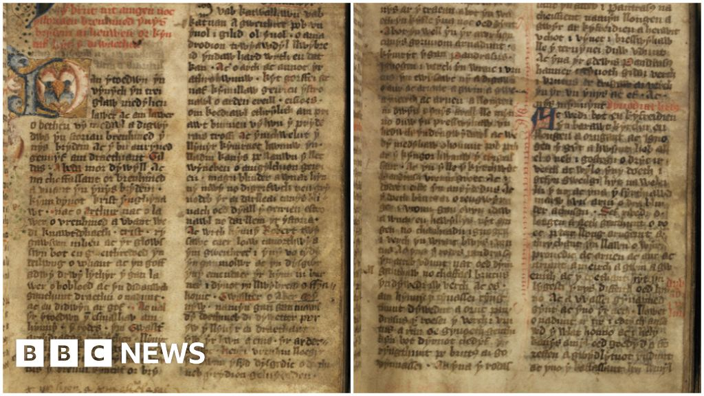 Delving into the Welsh Dark Ages - BBC News