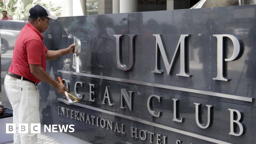 Panama hotel removes Trump branding after court battle