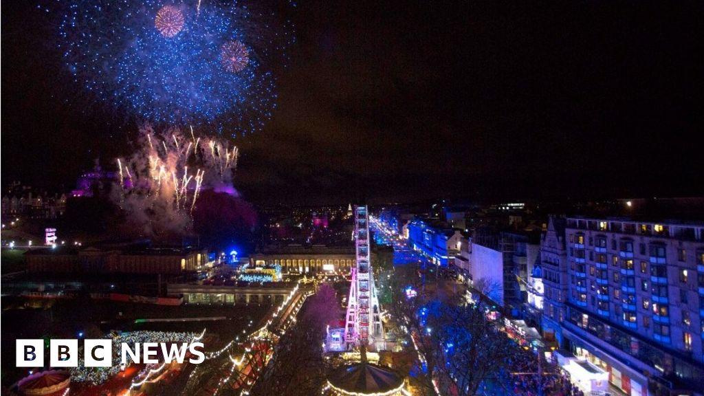 Edinburgh's Hogmanay street party to return with reduced capacity thumbnail