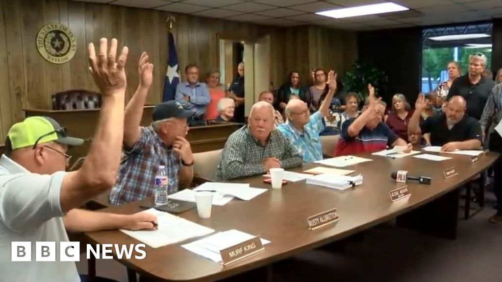 Texas town bans abortion in all-male council vote