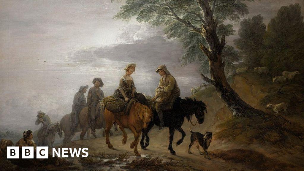 Thomas Gainsborough: Export bar put on 'finest' painting