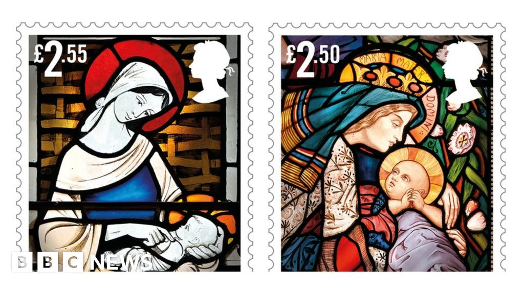 Royal Mail unveils Christmas 2020 nativity stamps   BBC News